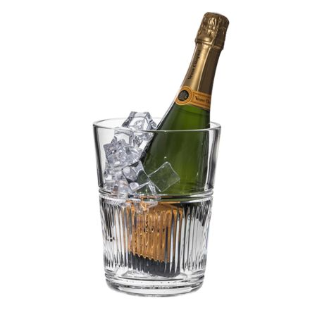 Art Deco Crystal Champagne / Large Ice Bucket (Gift Boxed)