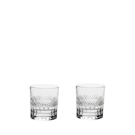 Diamonds - 2 Crystal Large Gin & Tonic Tumblers (Gift Boxed)