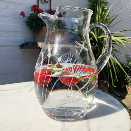 London Crystal Large Gin Cocktail Glass Jug  (Gift Boxed)