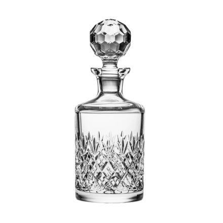 Edinburgh Single Round Spirit Gin Decanter (Gift Boxed)