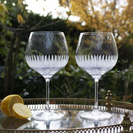 Glacier - 2 Gin and Tonic (G&T) Copa Glasses, 210mm (Gift Boxed)