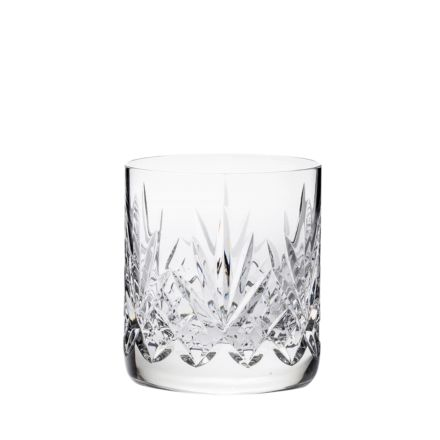 Highland - Single Large On the Rocks Tumblers 100 mm (Presentation Boxed) | Royal Scot Crystal