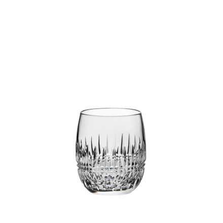 Iona Crystal 1 Gin & Tonic (G&T) Tumblers 12oz (Barrel Shaped) - 95mm (Gift Boxed) | Royal Scot Crystal