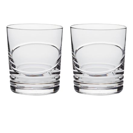 Saturn - 2 Crystal Large Gin & Tonic Tumblers (Gift Boxed)