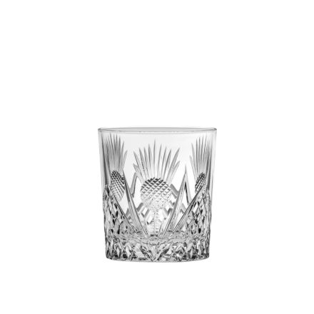 Scottish Thistle single Large Gin & Tonic Tumbler (Gift Boxed)