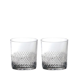 Tiara - 2 Crystal Large Gin & Tonic Tumblers (Gift Boxed)