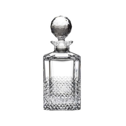 Tiara Crystal Square Spirit Gin Decanter (Gift Boxed)