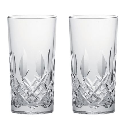 Westminster- 2 Crystal Tall Gin & Tonic Tumblers (Gift Boxed)
